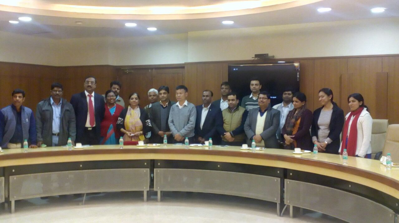 IIPA (Indian institute of Public Administration) visited TDB