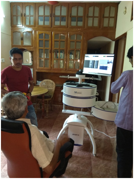 Project Monitoring Committee (PMC) visit to the project being implemented by M/s Mobilexion Technologies Pvt. Ltd., Thiruvananthapuram