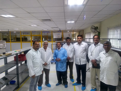Glimpse of PMC visit to M/s Vinayas Innovative Technologies (VIT) Pvt. Ltd., Mysore and inspection of requisite ability and facility for the manufacture of Hemodialysis Machine.