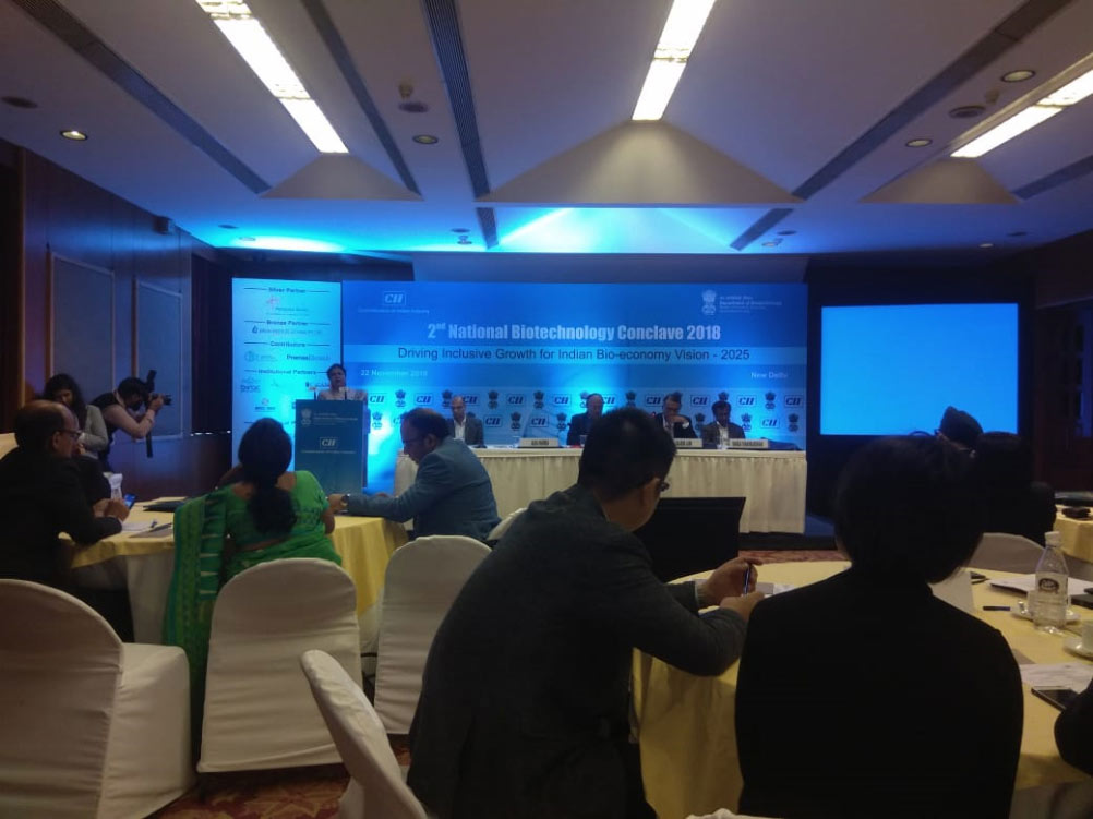 National Biotechnology Conclave 2018
