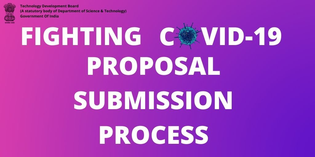 Fighting Covid-19 Proposal Submission Process